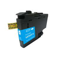 Brother LC 3337 Premium Cyan Compatible