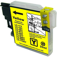 Brother LC67 Yellow Compatible Ink Cartridge