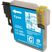 Brother LC39 Compatible Cyan Ink Cartridge