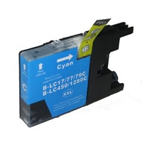Brother LC77XL Cyan Compatible Ink Cartridge