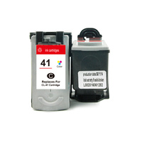 CL-41 Remanufactured Inkjet Cartridge with new chip