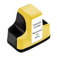 #02 Yellow High Capacity Remanufactured Inkjet Cartridge