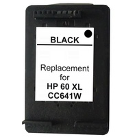 60XL Black Remanufactured Inkjet Cartridge