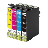 Epson 29XL Compatible Inkjet Cartridge Set 4 Ink Cartridges