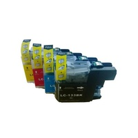 Brother LC133 Compatible Ink Cartridge Set 4 Cartridges