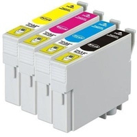 Epson 138 Compatible Pigment Series Inkjet Set 4 Cartridges