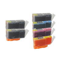 Canon PGI-525, CLI 526 Compatible Inkjet Set 6 Cartridges