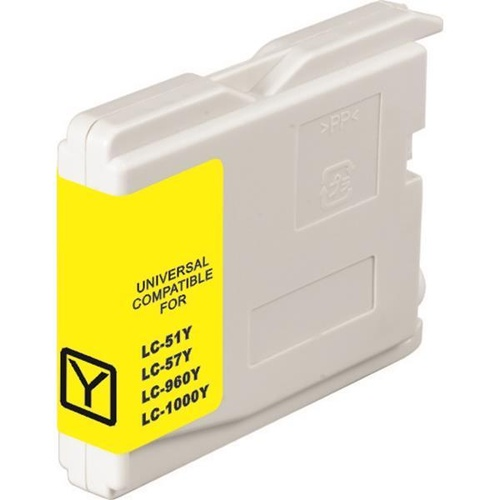 Brother LC57 Yellow Compatible Ink Cartridge